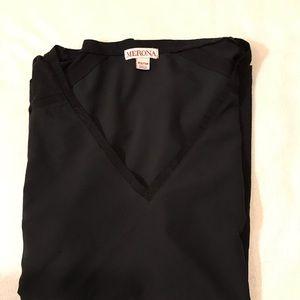 Merona Tops - Like New {Merona} black cap sleeve flowy top